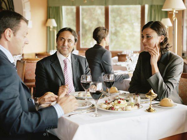 üzleti étkezés